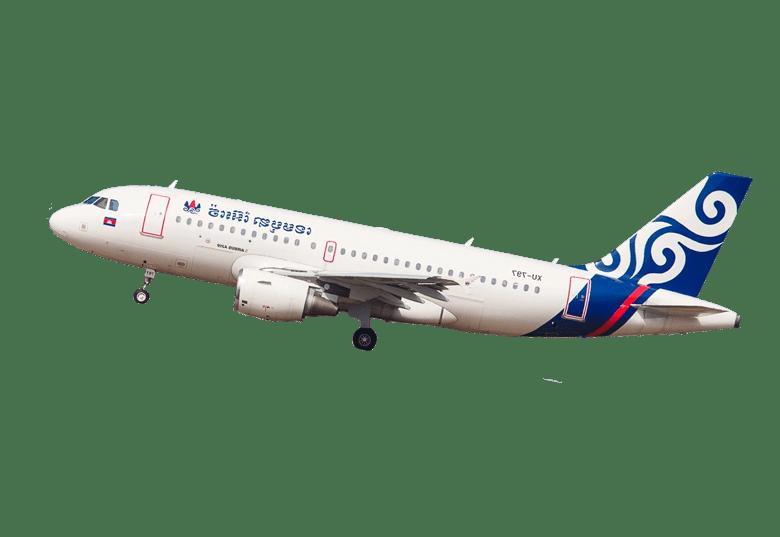 Réserver vos billets d'avion en Cambodge