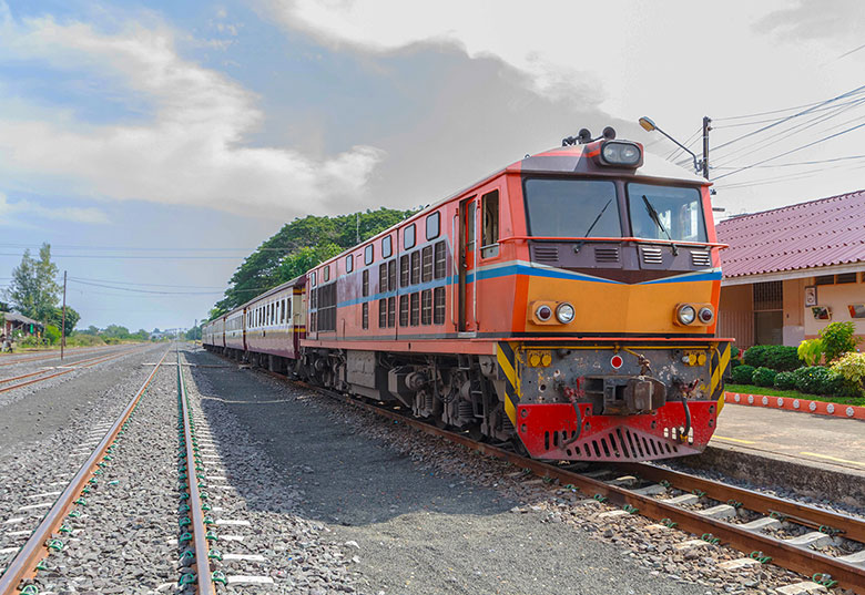 Book your trains in Thailand